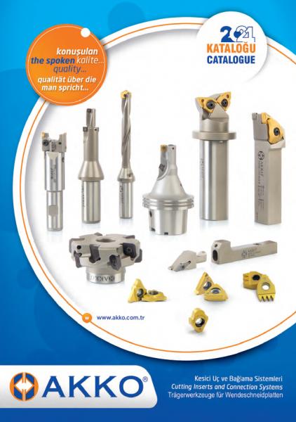 Catalogus Akko 2021 - Cutting tools products catalogue