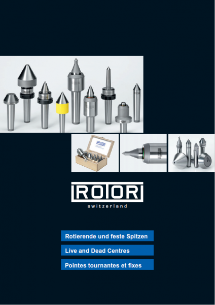 Catalogus Rotor Zentrierspitzen